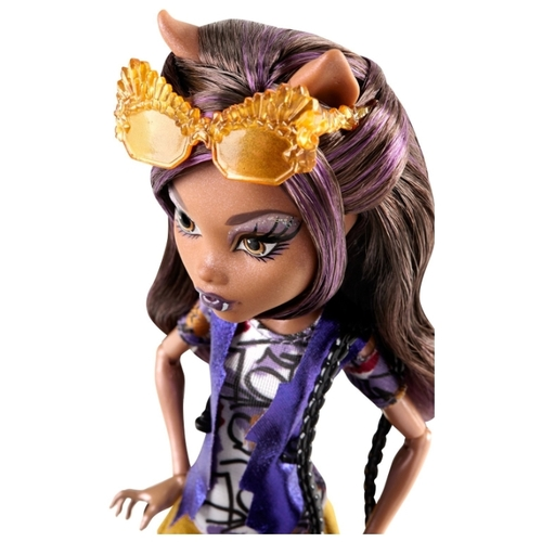 Кукла Monster High Бу Йорк, Бу Йорк Клодин Вульф, 26 см, CHW54 Куклы и пупсы