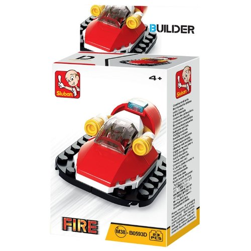 Купить Конструктор SLUBAN Builder M38-B0593D Огонь, Конструкторы