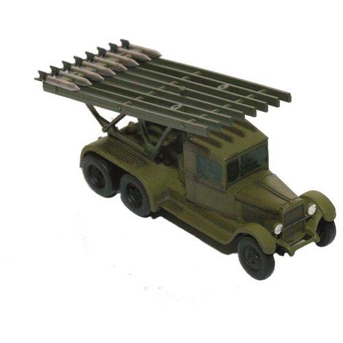 Купить Сборная модель ZVEZDA Советская реактивная установка БМ-13 Катюша (6128) 1:100, Сборные модели