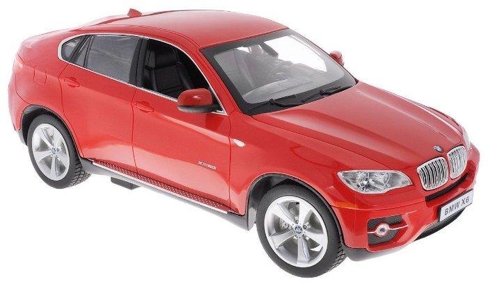 Легковой автомобиль Rastar BMW X6 (31400) 1:14 красный фото 1
