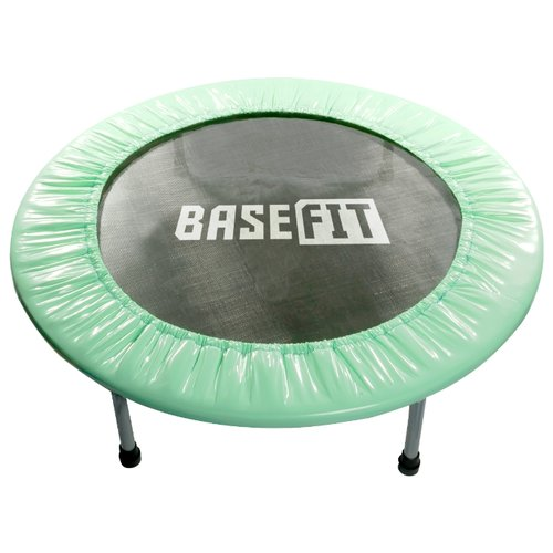 Каркасный батут BaseFit TR-101 81 см 81х81х22 см мятный