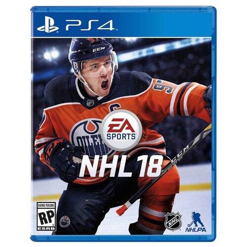 Игра для PlayStation 4 NHL 18