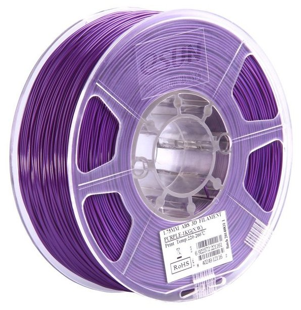 ABS пруток ESUN 1.75 мм фиолетовый
