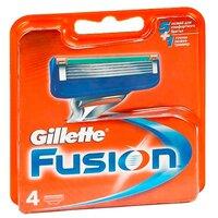 Сменные лезвия Gillette Fusion, 4 шт.