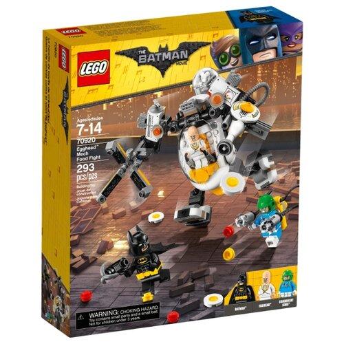 Конструктор LEGO The Batman Movie 70920 Бой с роботом ЯйцеголовогоКонструкторы<br>