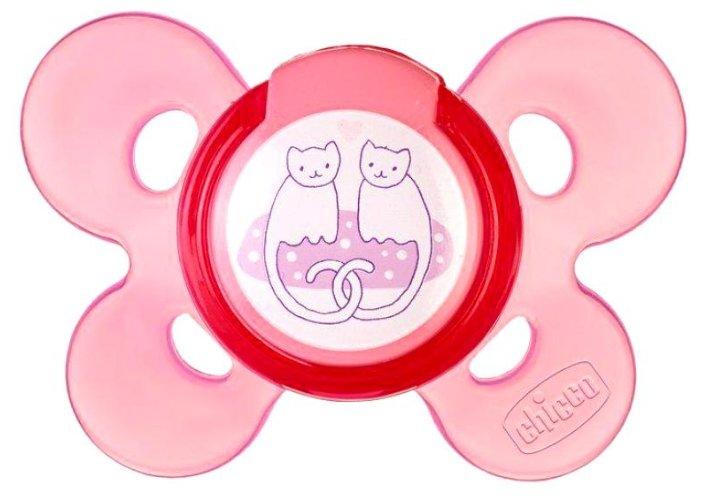 Пустышка силиконовая ортодонтическая Chicco Physio Comfort 6-12 м (1 шт)