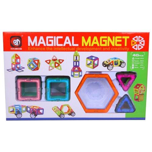 Магнитный конструктор Xinbida Magical Magnet 702-40