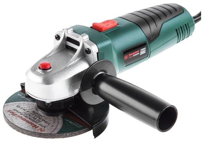 УШМ Hammer USM 500 LE, 500 Вт, 115 мм