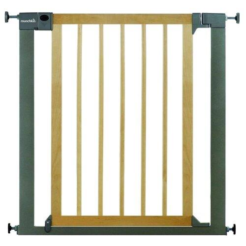 барьеры и ворота munchkin барьеры ворота easy close mck ext metal расширяющиеся Munchkin Ворота безопасности Easy Close 75-82 см 11444 коричневый/серый