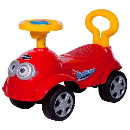 Купить Каталка-толокар Baby Care QT Racer (615B) со звуковыми эффектами красный, Каталки и качалки