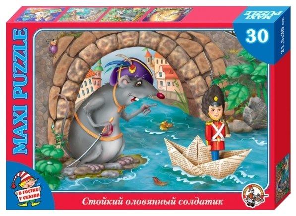Пазл Десятое королевство В гостях у сказки Стойкий оловянный солдатик (01070), 30 дет.