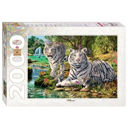 Купить Пазл Step puzzle Art Collection Сколько тигров? (84034), 2000 дет., Пазлы