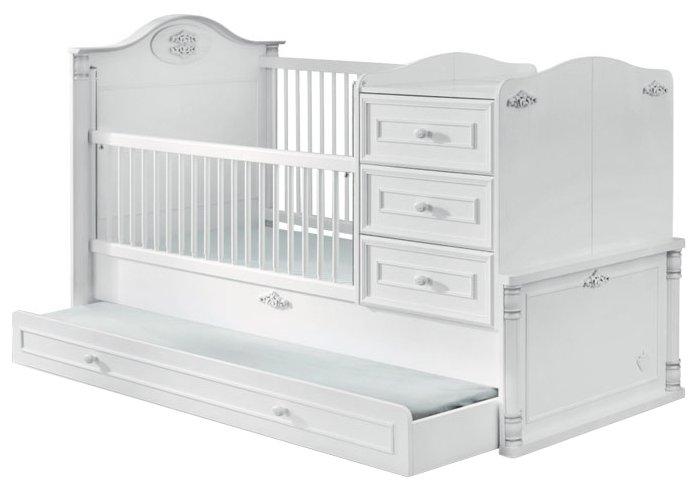 Кроватка Cilek Romantic трансформер (80x180 см)