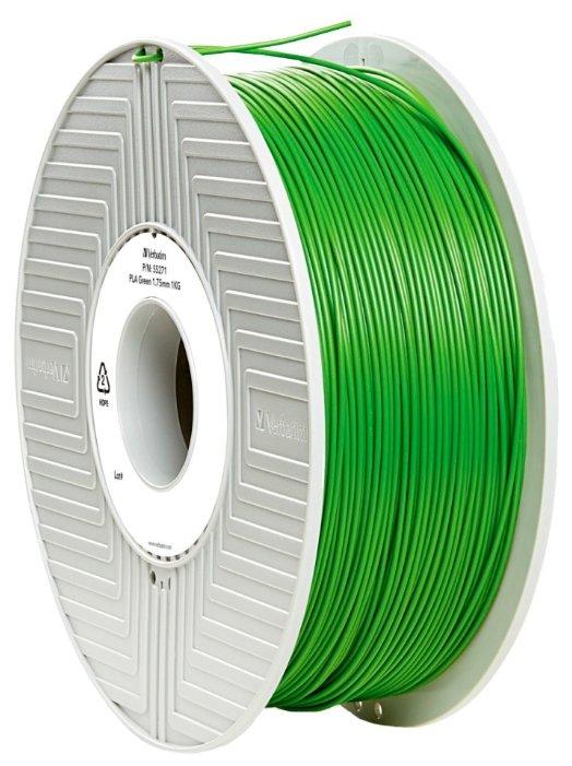 PLA пруток Verbatim 1.75 мм зеленый