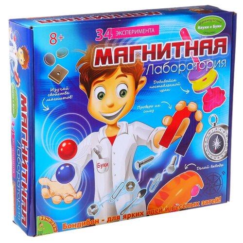 Купить Набор BONDIBON Магнитная лаборатория (ВВ1111), Наборы для исследований