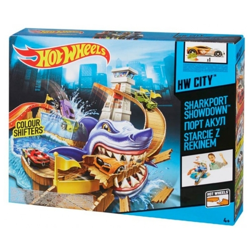 Трек Hot Wheels Color Shifters: Атака Акулы BGK04