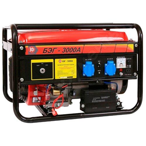 Бензиновый генератор КАЛИБР БЭГ-3000А (2500 Вт)