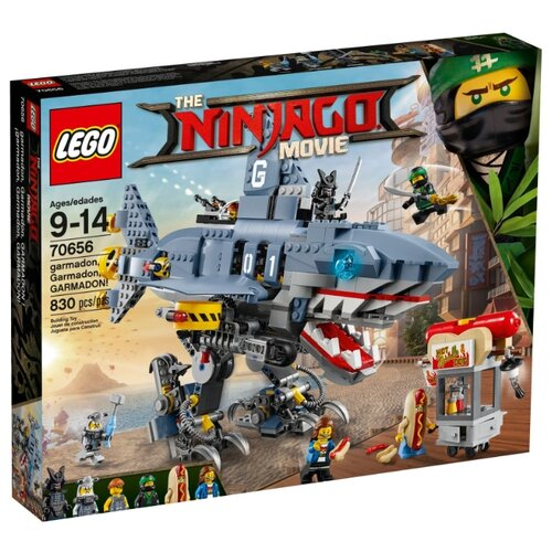 Конструктор LEGO The Ninjago Movie 70656 Гармадон, Гармадон, Гармадон! game deal playstation lego ninjago movie