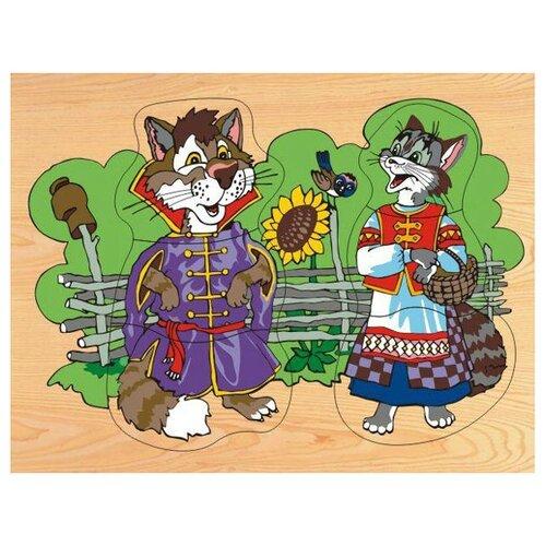 Рамка-вкладыш Чудо-Дерево Кот и кошка (D124), 6 дет.