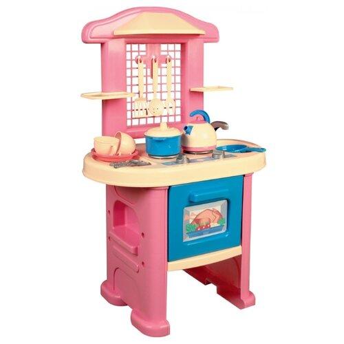 Купить Кухня ТехноК 43 039 розовый/голубой, Детские кухни и бытовая техника