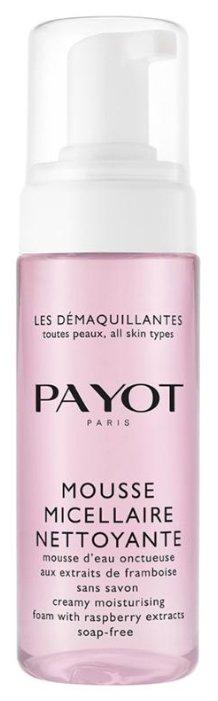 Payot пена мусс мицеллярная увлажняющая без мыла