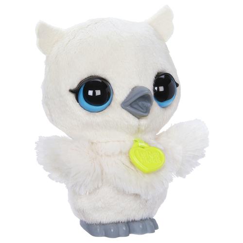 Купить Интерактивная мягкая игрушка FurReal Friends Поющие зверята Совенок C2289 белый, Роботы и трансформеры