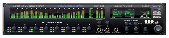 Внешняя звуковая карта MOTU 896mk3 Hybrid