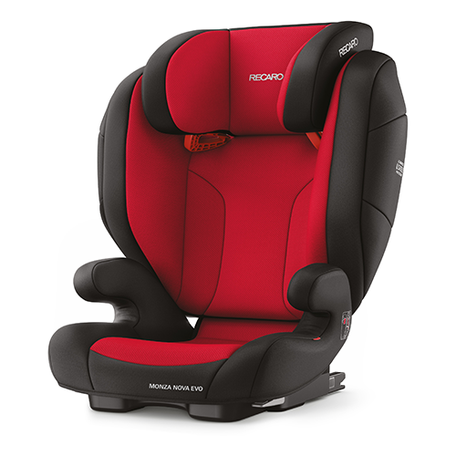 цена на Автокресло группа 2/3 (15-36 кг) Recaro Monza Nova Evo Seatfix, Racing Red