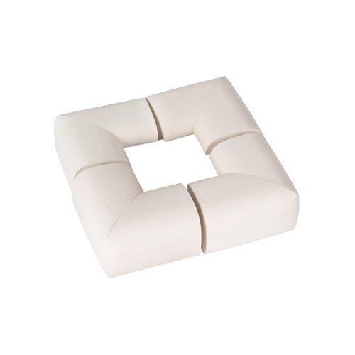 Мягкие накладки на углы 1620 Пома белыйАксессуары для безопасности<br>