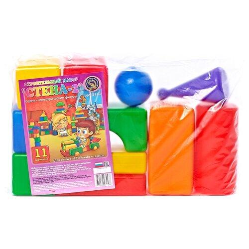 Купить Кубики Строим вместе счастливое детство Стена-2 5243, Детские кубики