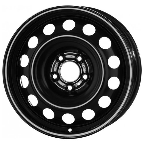 Колесный диск Magnetto Wheels 15000 6x15/5x108 D63.3 ET52.5 Black колесный диск magnetto wheels 16012 6 5x16 5x114 3 d60 1 et45 black