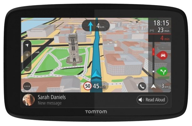 TomTom Навигатор с радар-детектором TomTom GO 620