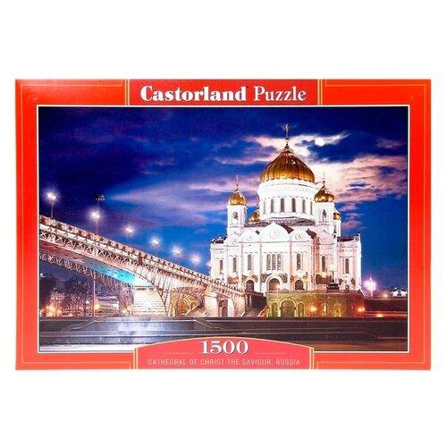 Купить Пазл Castorland Cathedral of Christ the Saviour, Russia (С-150533), 1500 дет., Пазлы