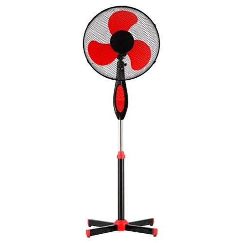Напольный вентилятор Polaris PSF 0140RC (2018) красный/черный