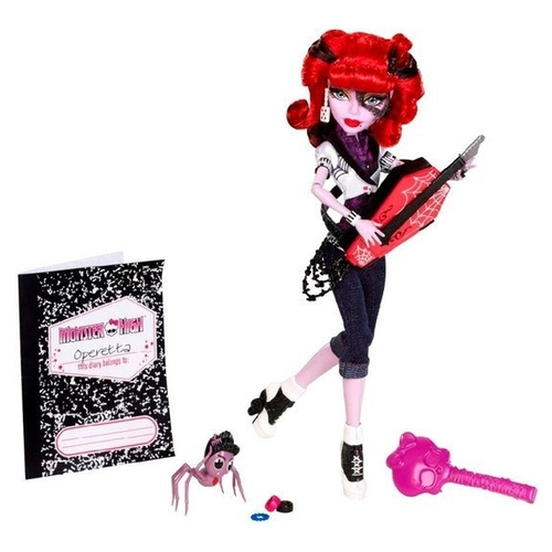 Кукла Monster High Оперетта с питомцем, 27 см, W9116 Куклы и пупсы