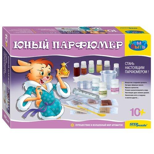 Step puzzle Юный парфюмер (76307)Изготовление косметики<br>