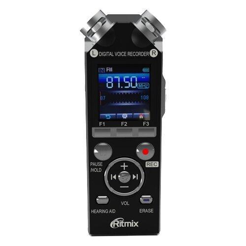 Диктофон Ritmix RR-989 4Gb черный