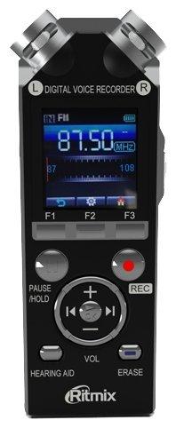 Диктофон RITMIX RR-989 8 Gb, черный [15119319]