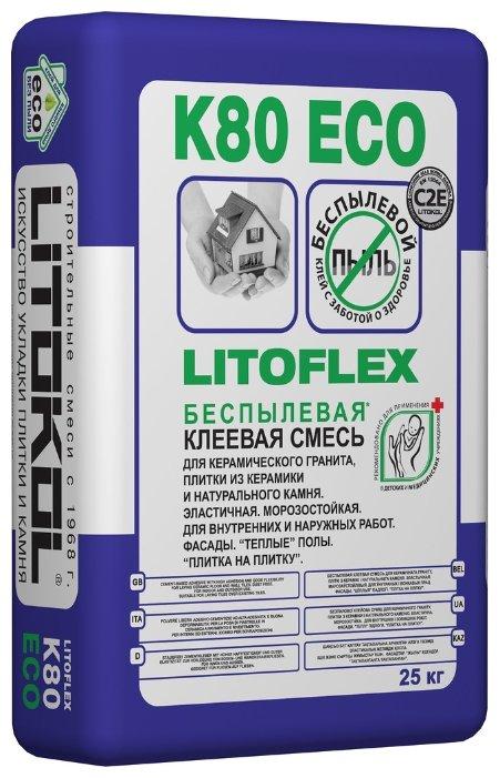 Клей Litokol Litoflex K80 Eco 25 кг