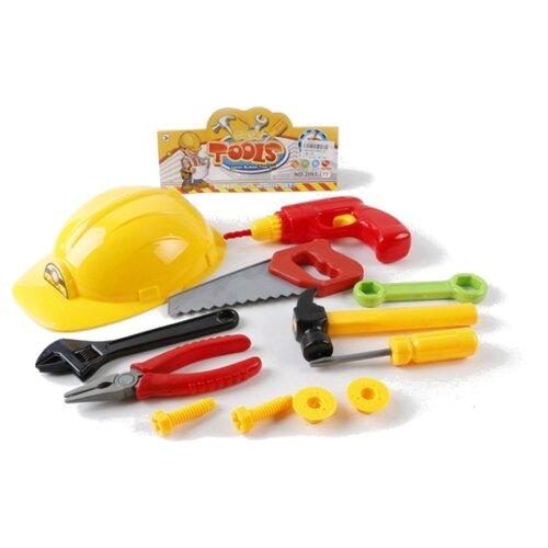 Shantou Gepai Набор строительных инструментов (B1462452) shantou gepai набор строительных инструментов 9 предметов 2093 1