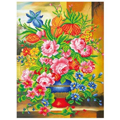 Цветной Набор алмазной вышивки Прекрасные цветы (LMC001) 50x65 смАлмазная вышивка<br>