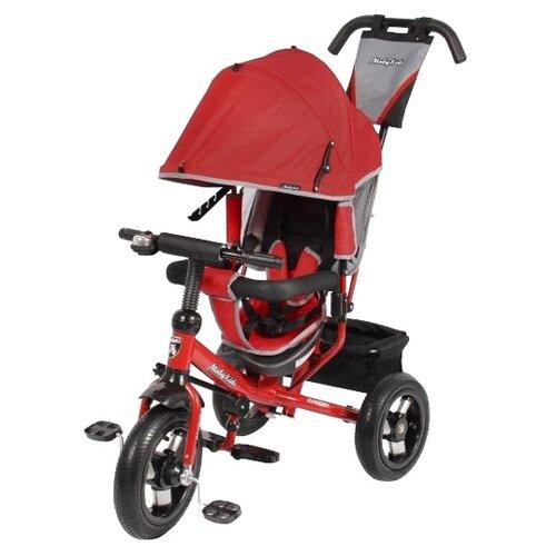 Трехколесный велосипед Moby Kids Comfort 12x10 AIR красный трехколесный велосипед pilot pta3 2019 красный