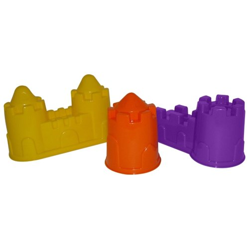 Фото - Набор Полесье замок башня + замок стена с двумя башнями + замок мост 37251 замок