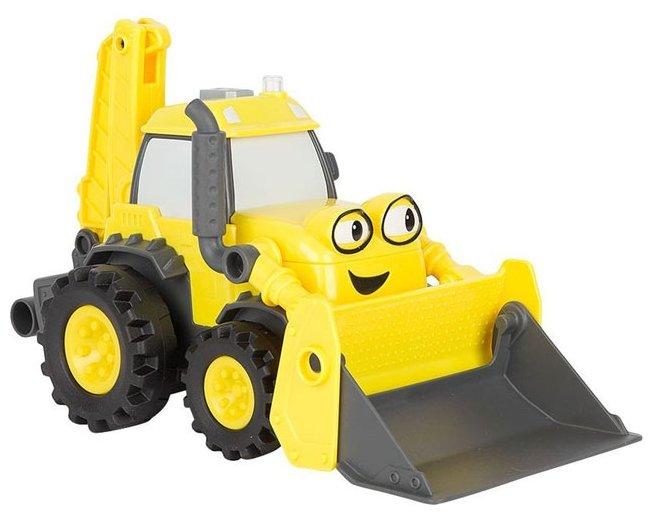 Экскаватор Mattel Боб строитель (FFN79) желтый