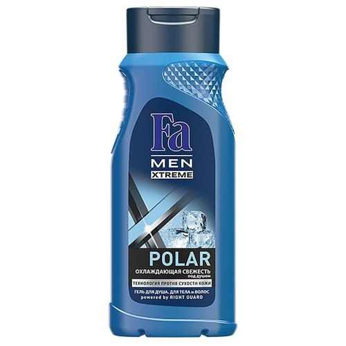 Гель для душа и шампунь Fa Men Xtreme Polar, 250 мл