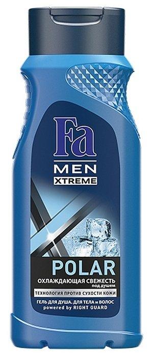 Гель для душа и шампунь Fa Men Xtreme Polar