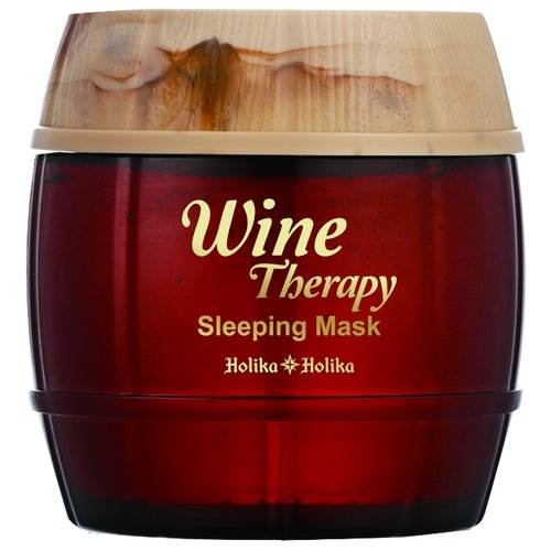 Holika Holika ночная маска-желе Wine Therapy Красное Вино, 120 млМаски<br>