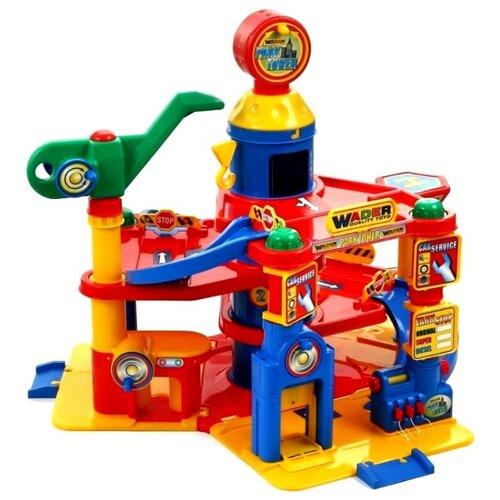 Купить Wader Паркинг 37855, Детские парковки и гаражи