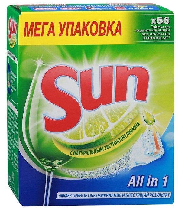 Sun All in 1 таблетки (лимон)