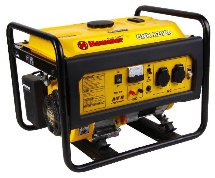 Бензиновый генератор Hammer GNR2200 А (2000 Вт)